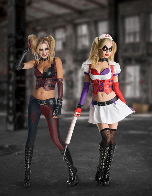 Sexy Harley Quinn Costumes