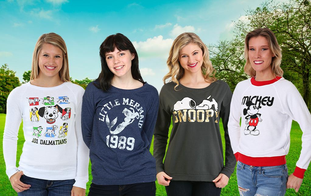 Women's Sweatshirts and Hoodies