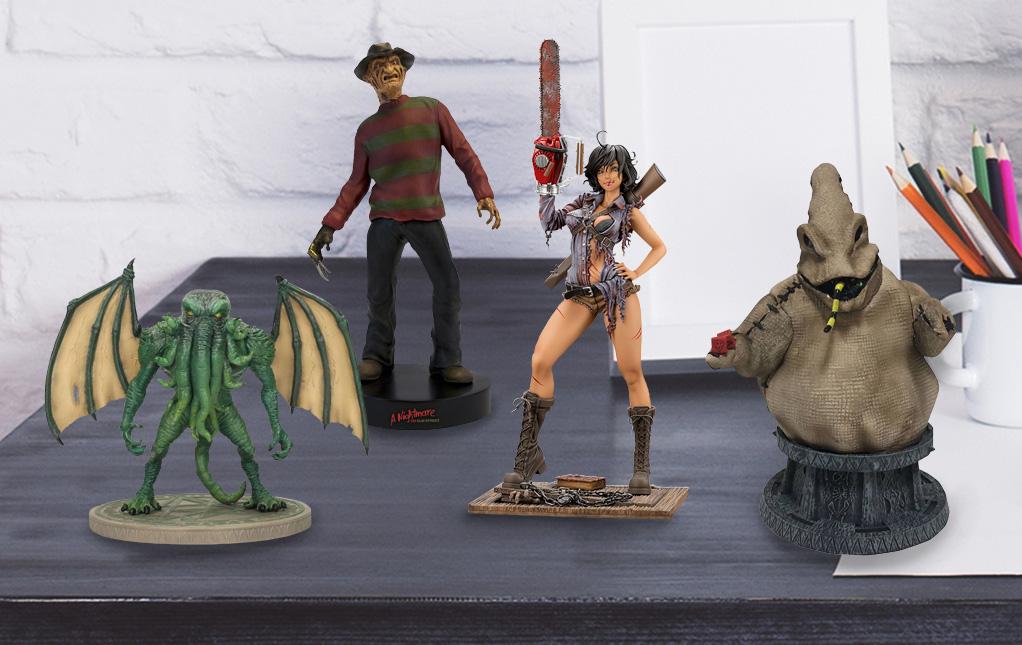 Horror Movie Statues