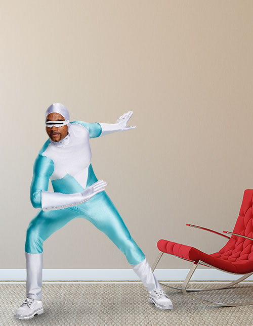 Incredibles 2 Mens Frozone Costume