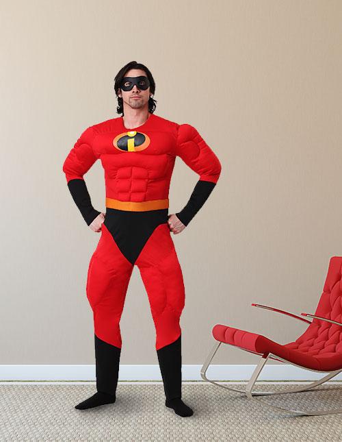 Mr. Incredible Mens Costume