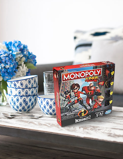 The Incredibles Monopoly Jr Game
