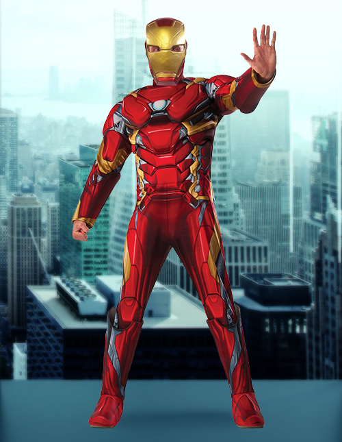 Iron Man Civil War Suit
