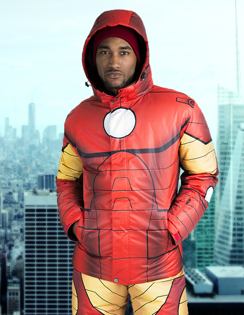 Iron Man Hooded Jacket