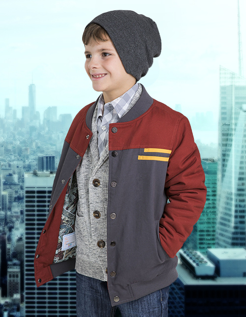 Iron Man Jacket for Kids