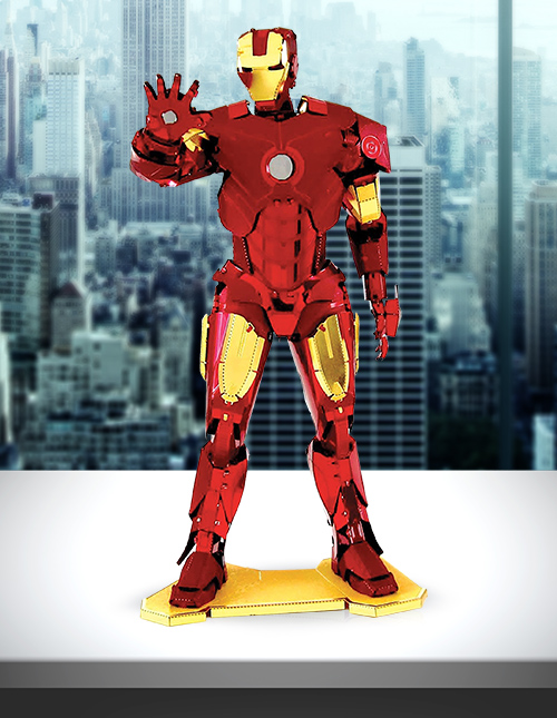 Metal Earth Iron Man Model