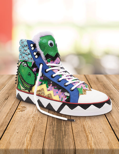 Irregular Choice Rex High-Tops