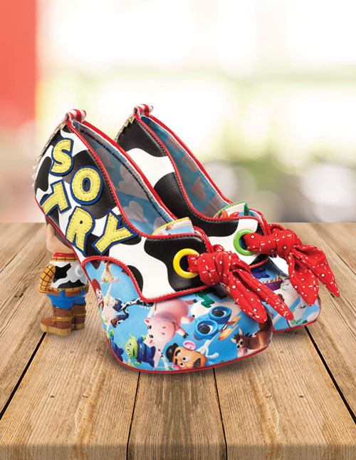 Irregular Choice Toy Story Heels