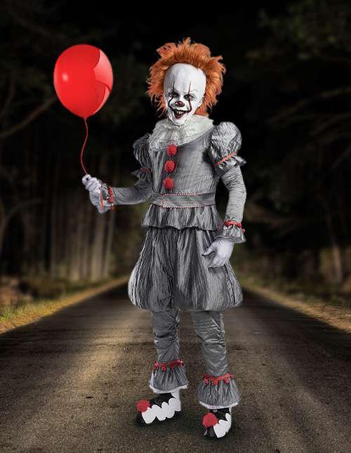 Mens Pennywise Costume