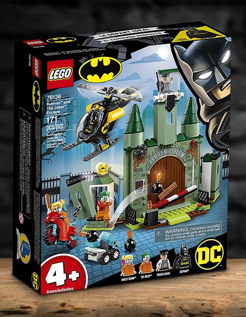 Batman and Joker Escape LEGO