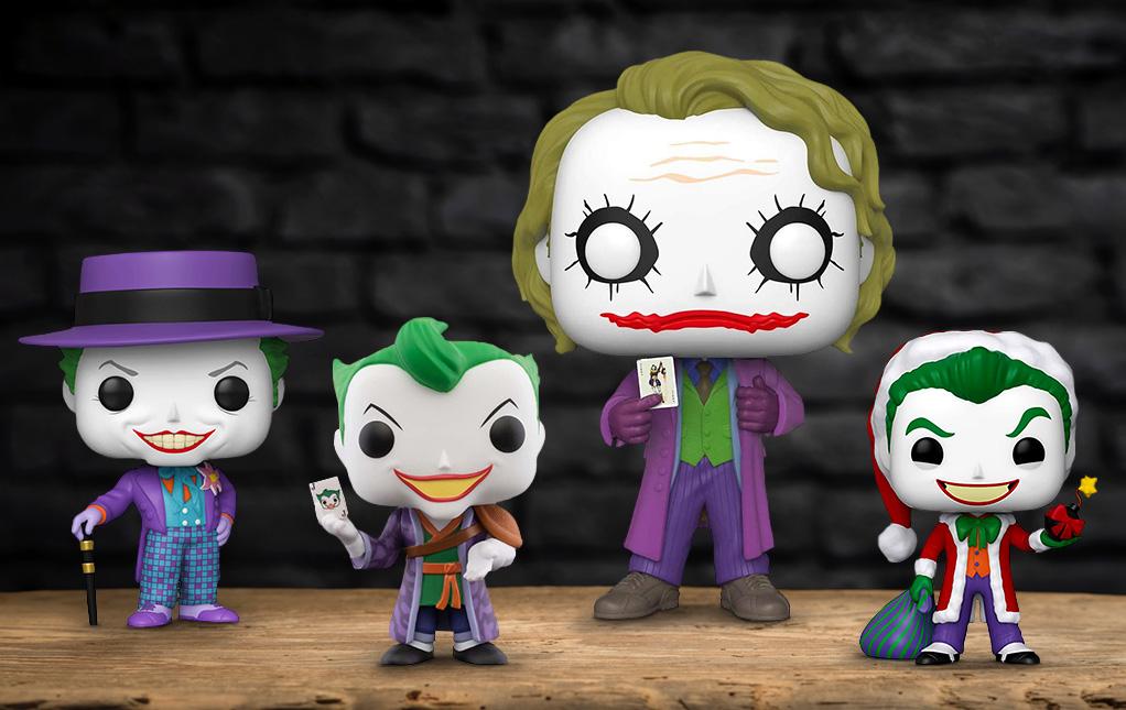 Joker Pop Figures