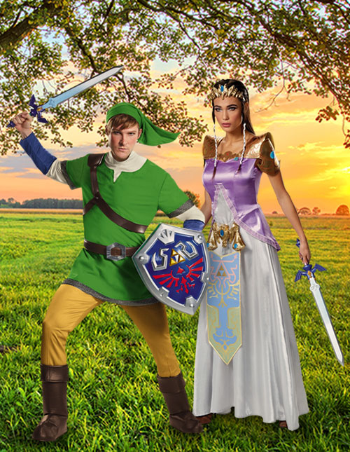Adult Zelda Costumes