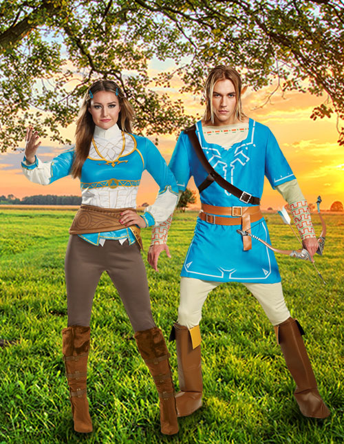 Legend of Zelda Breath of the Wild Costumes