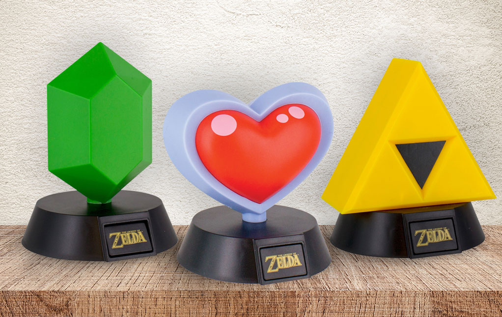 Legend of Zelda Lamps