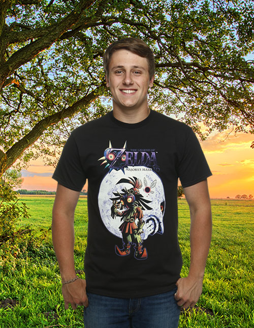 Legend of Zelda Majora's Mask Shirt