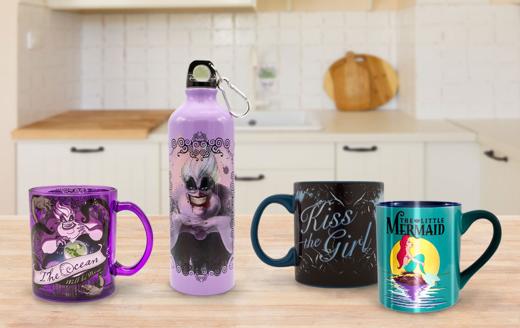 Little Mermaid Drinkware