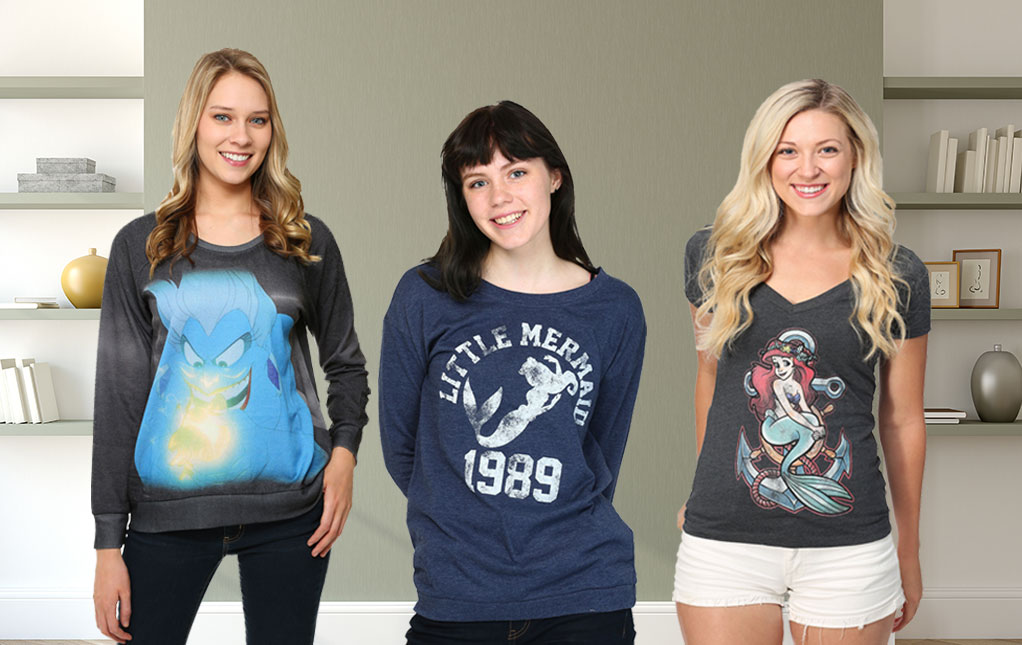 Little Mermaid Shirts