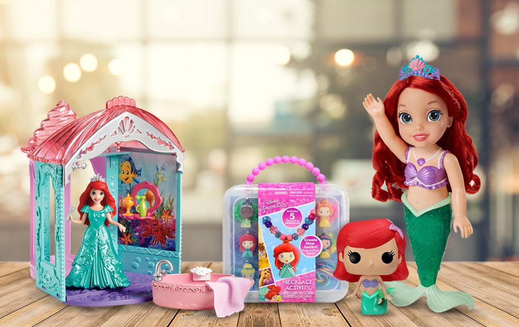 Little Mermaid Toys