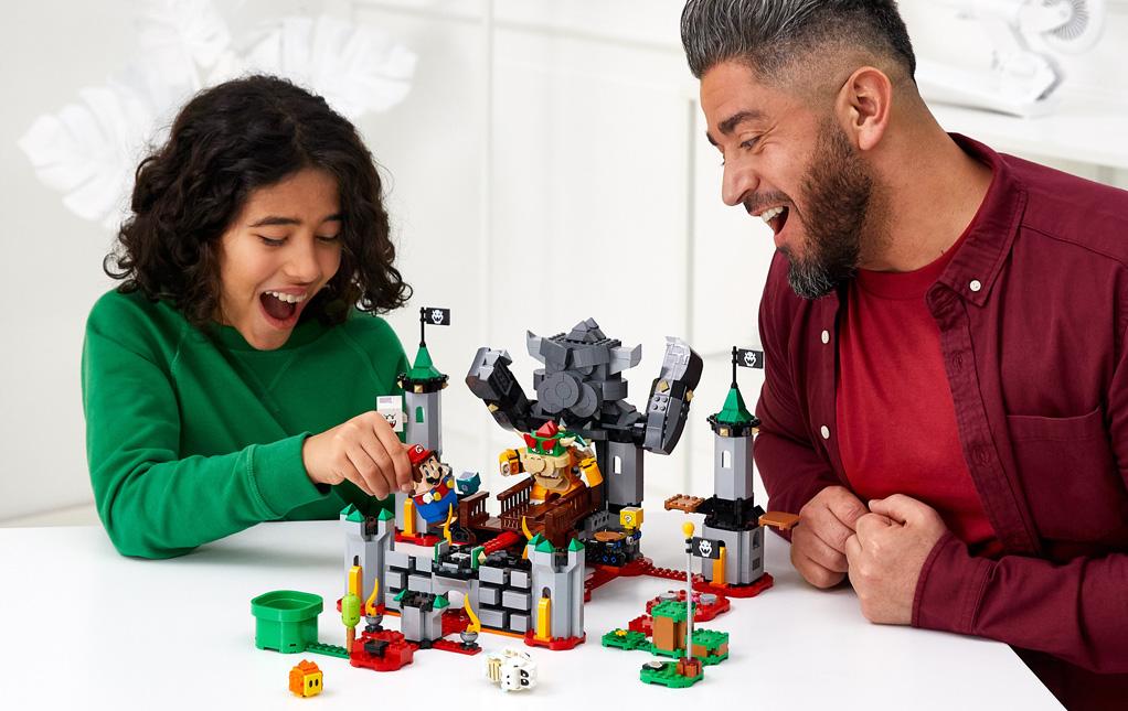 Lego Bowser Castle