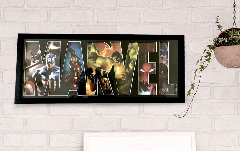 Marvel Décor for Home & Office