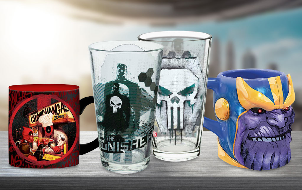 Marvel Mugs & Drinkware