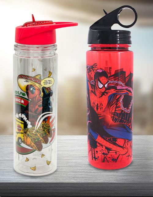 Marvel Water Bottles