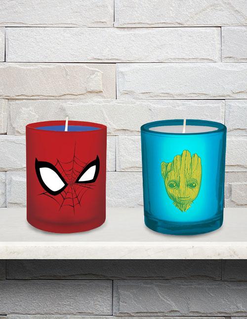 Superhero Candles