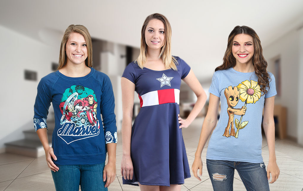 Women's Marvel Clothing