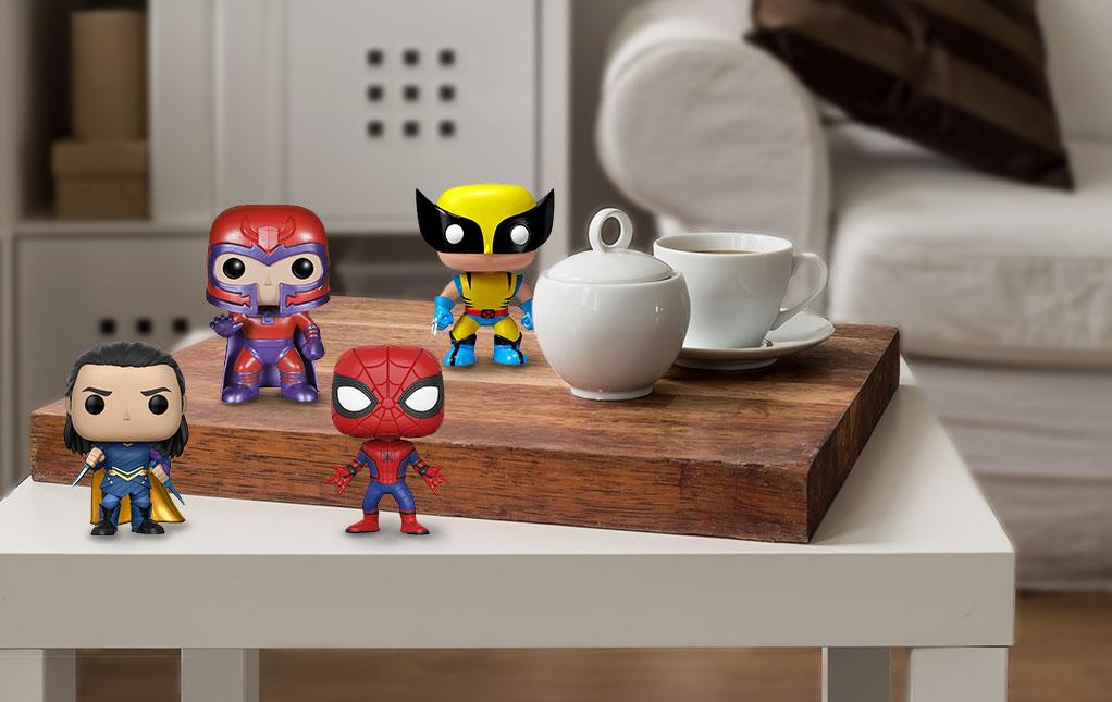 Marvel Pops