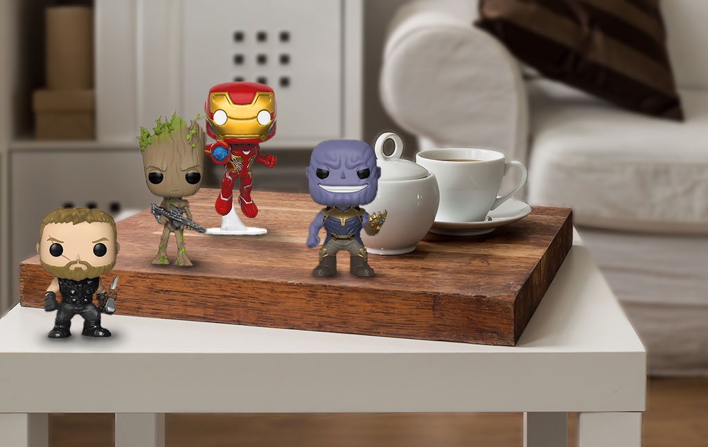 Infinity War Pops