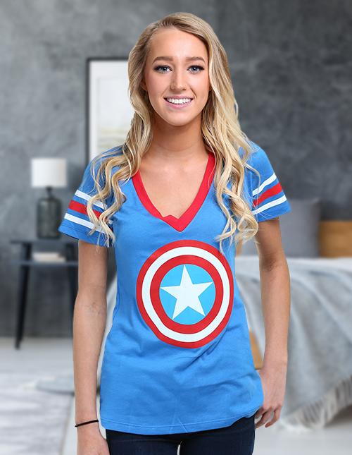 Womens Marvel Clothing