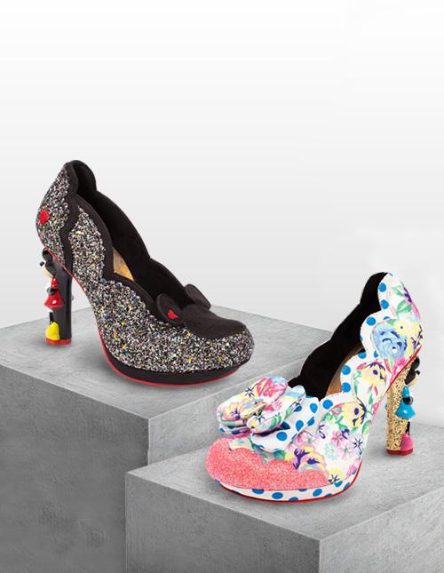 Minnie Mouse Irregular Choice Shoes