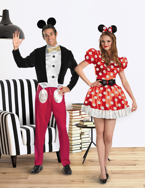 Mickey Mouse and Minnie Mouse Costumes