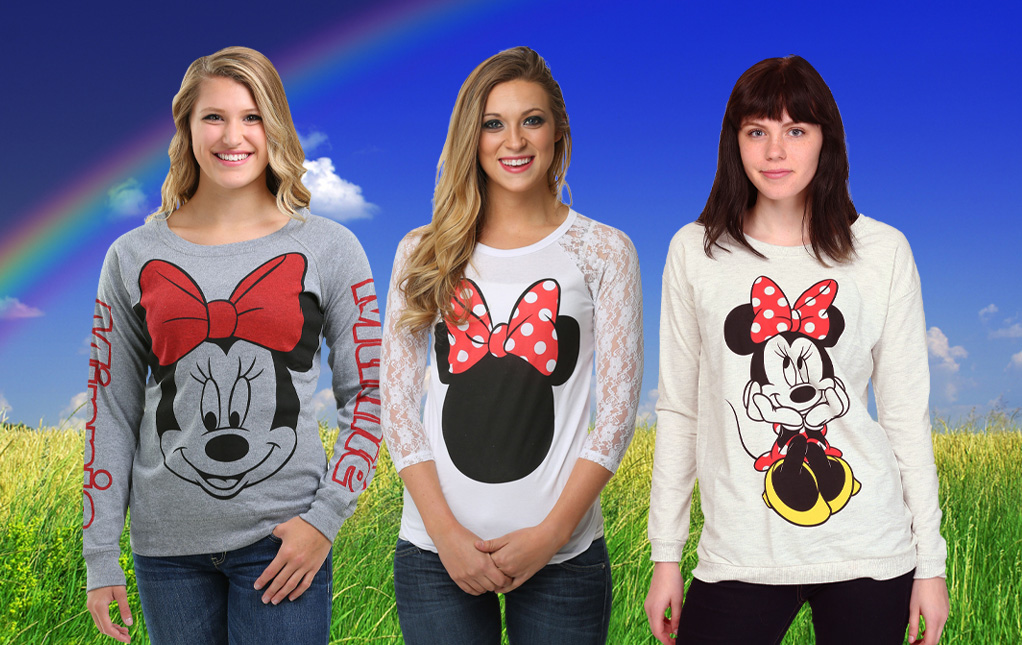 Minnie Mouse Apparel for Women