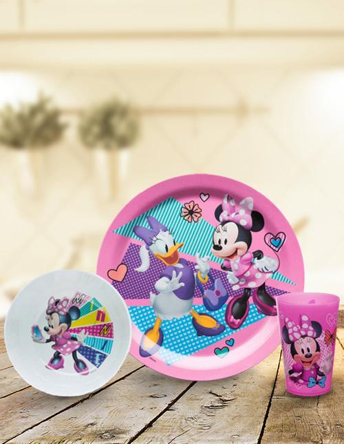 Minnie Mouse Dinner Set