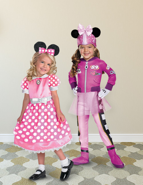 Pink Minnie Mouse Costumes