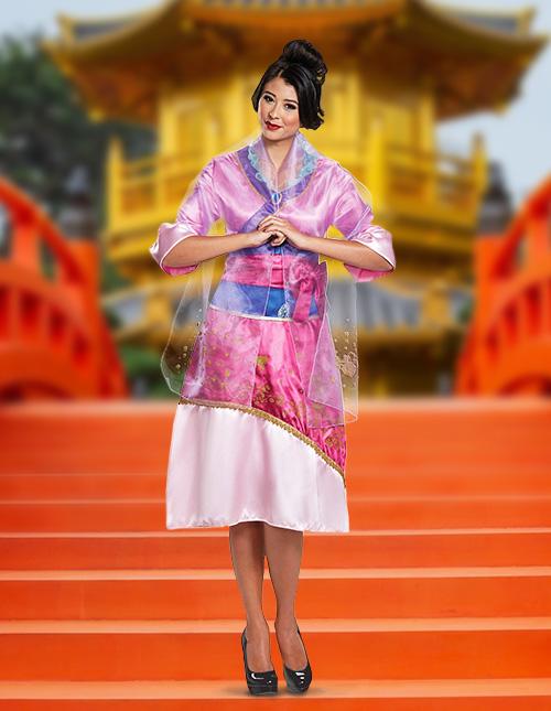 Mulan Costume Adult
