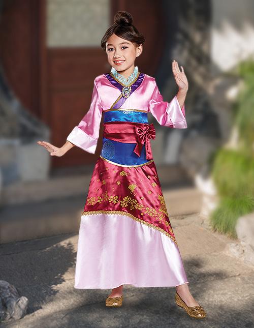 Mulan Costume Girls
