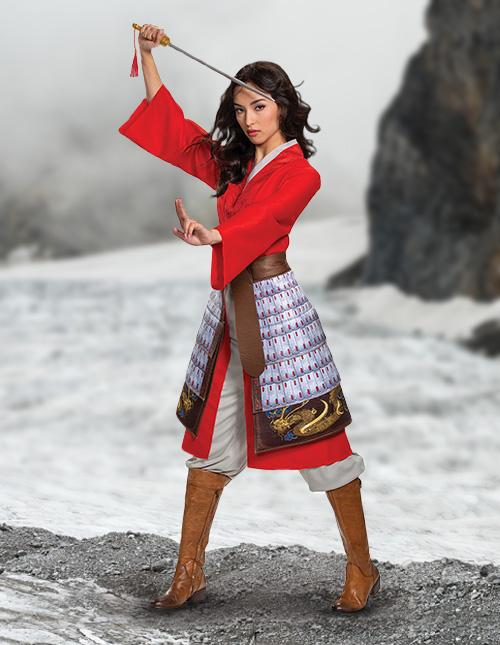 Mulan Warrior Costume