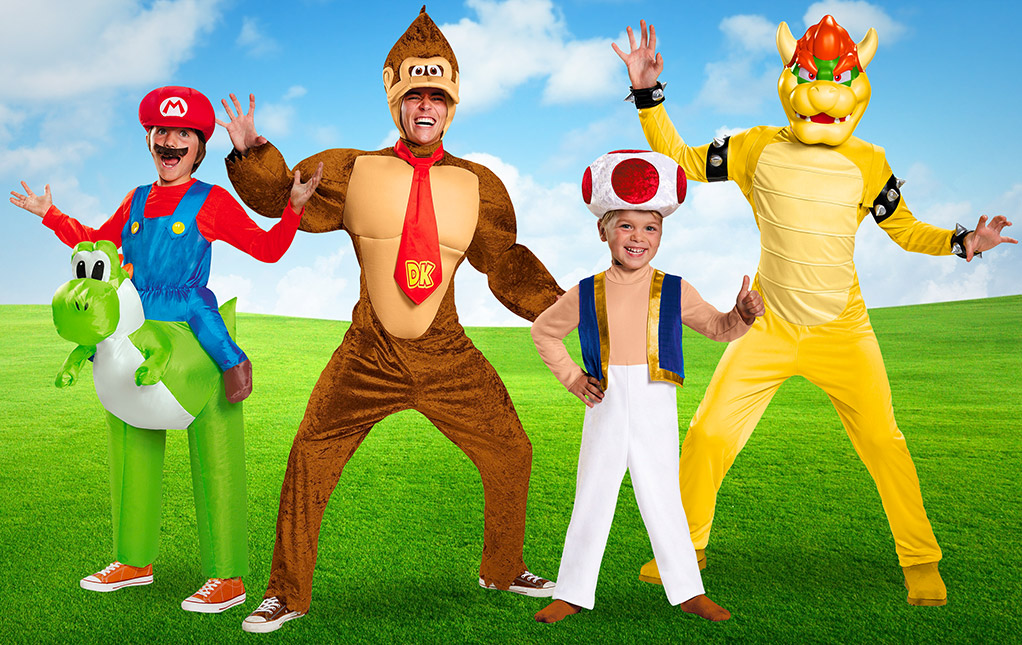 Mario Bros. Group Costumes