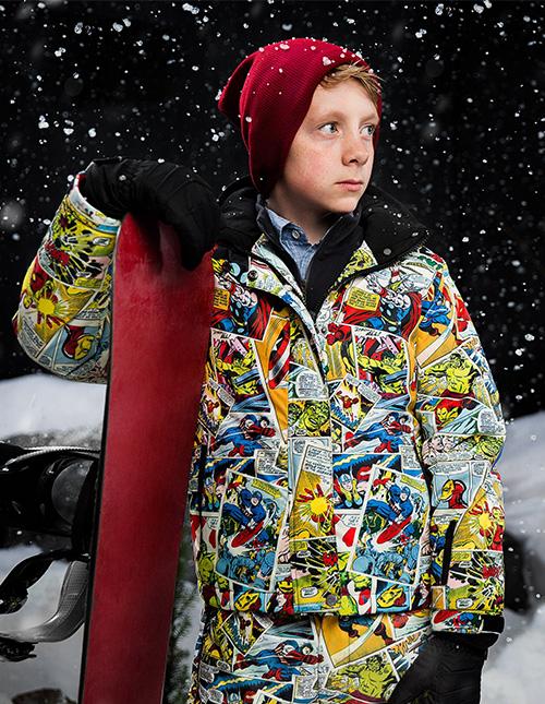 Kid's Ski Coats