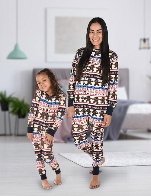Gingerbread Man Pajamas