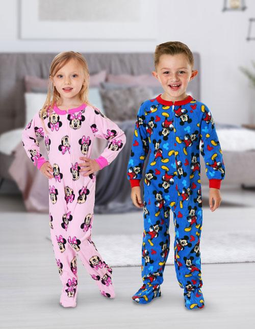 Mickey and Minnie Mouse Pajamas