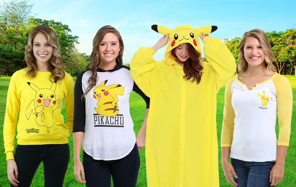 Pokémon Clothes for Women