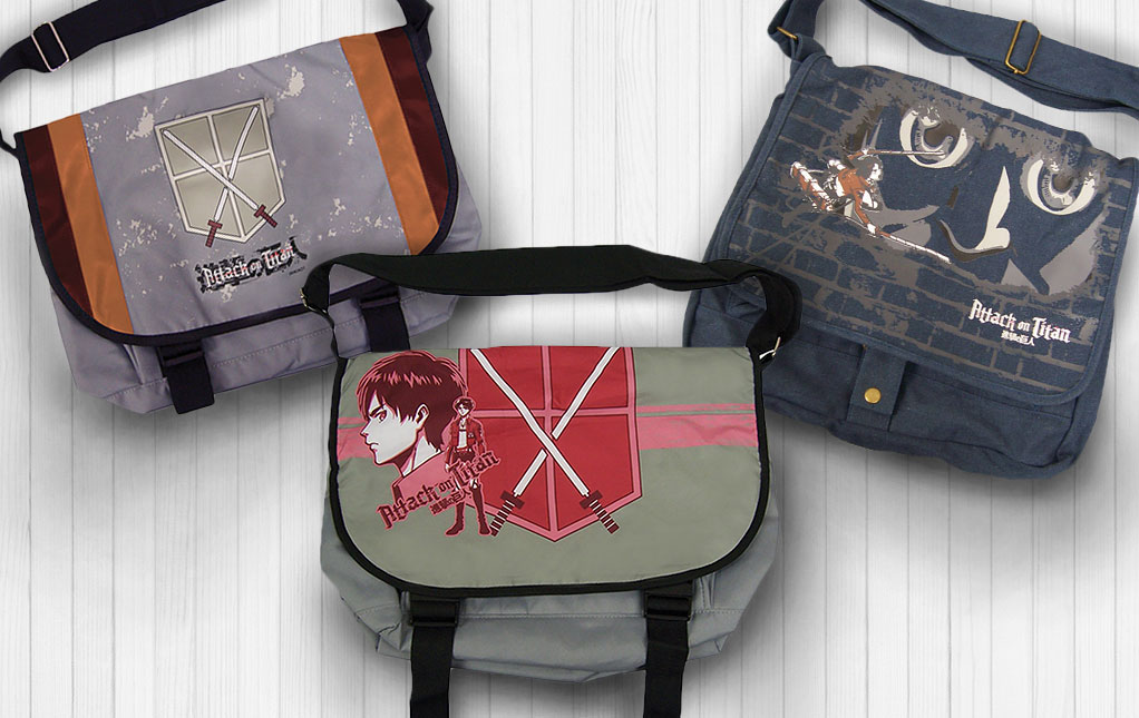 Anime Messenger Bags