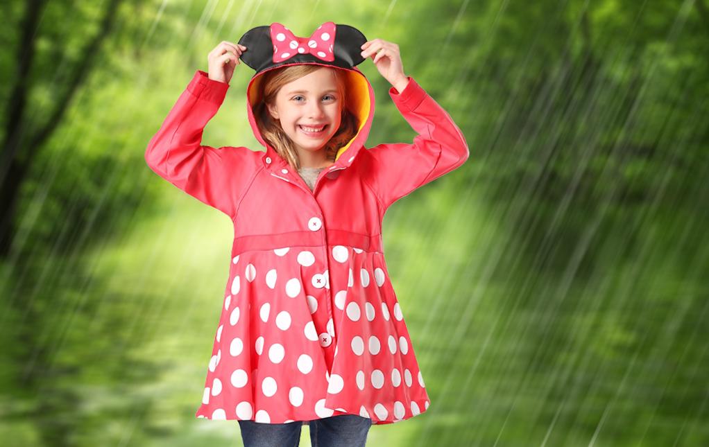 Girls Rain Coats