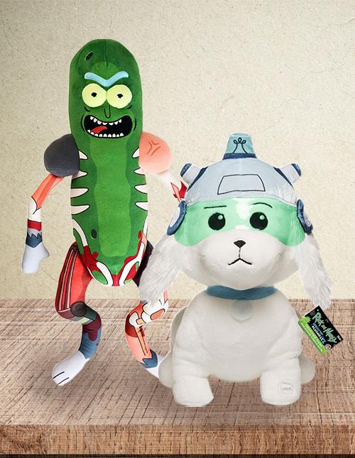 Rick and Morty Plush