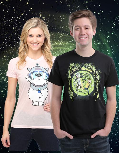 Rick and Morty Shirts
