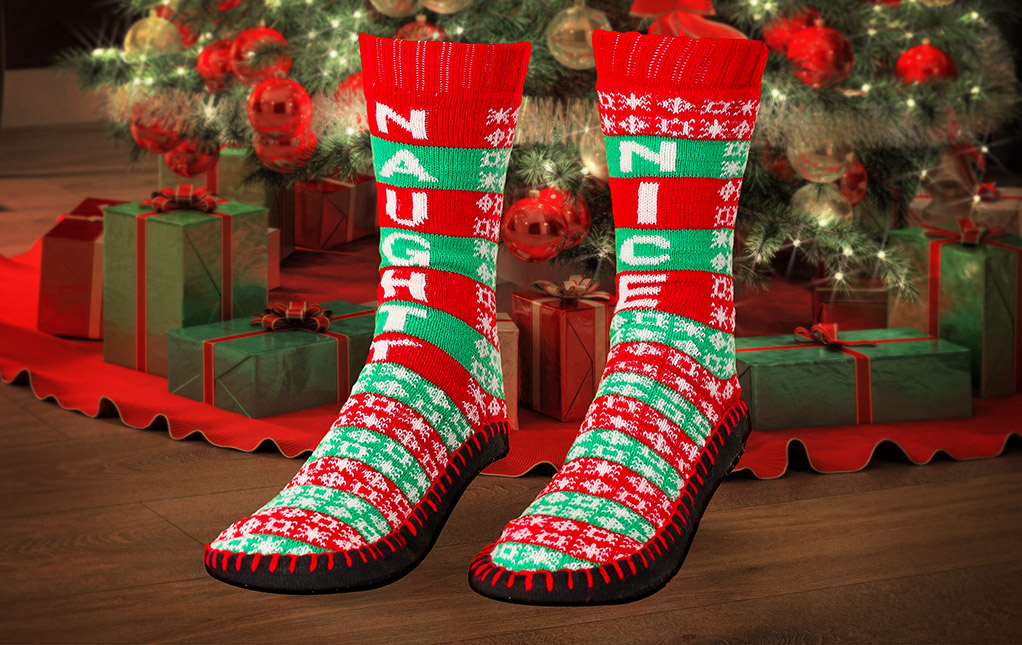 Cozy Christmas Slippers