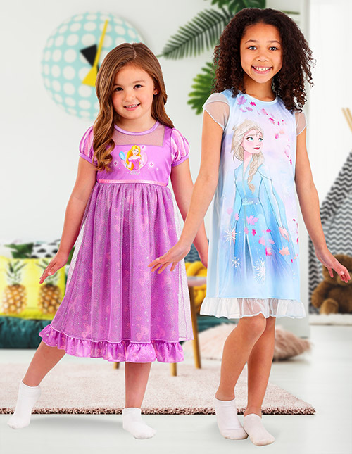 Girls' Princess Nightgowns